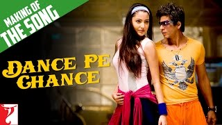 making of the song dance pe chance rab ne bana di jodi shah rukh khan anushka sharma
