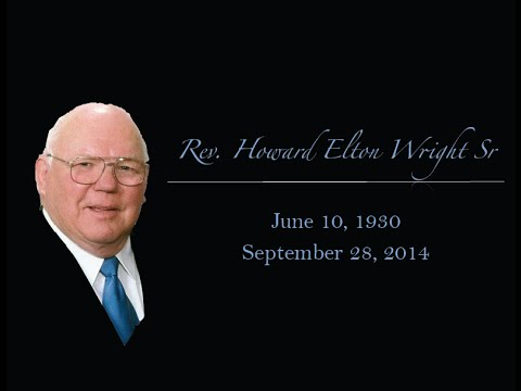 Rev Howard E Wright Sr
