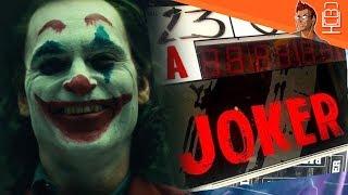 The JOKER First Look at Jokers Makeup & More