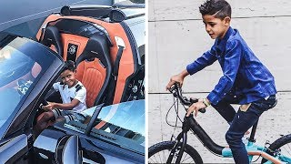 É Assim Que Vive o Filho do Cristiano Ronaldo