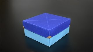 Origami: Gift Box - Instructions in English (BR)
