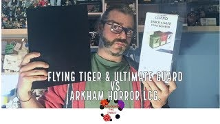 Tiger & Ultimate Guard VS Arkham Horror LCG. Around The Unboxing!