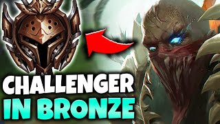 Baixar I TOOK MY PYKE TO BRONZE ELO! (LEGIT MASSACRE) - League of Legends