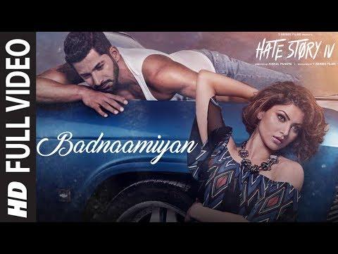 Badnaamiyan Full Song | Hate Story IV | Urvashi Rautela | Karan Wahi | Armaan Malik