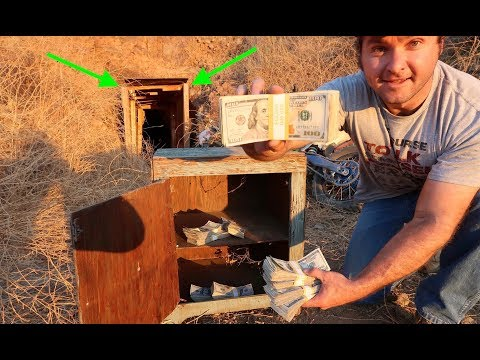 FOUND $87,436 DOLLARS IN HUGE ABANDONED MINESHAFT!!!