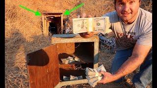 FOUND $87,436 DOLLARS IN HUGE ABANDONED MINESHAFT!!!