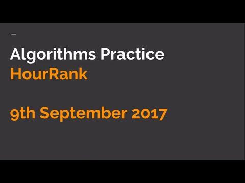 Algorithms Contest HourRank 23 | LIVE Coding | hackerrank coding challenge | September 2017