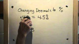 Changing Decimals to Percents The Process