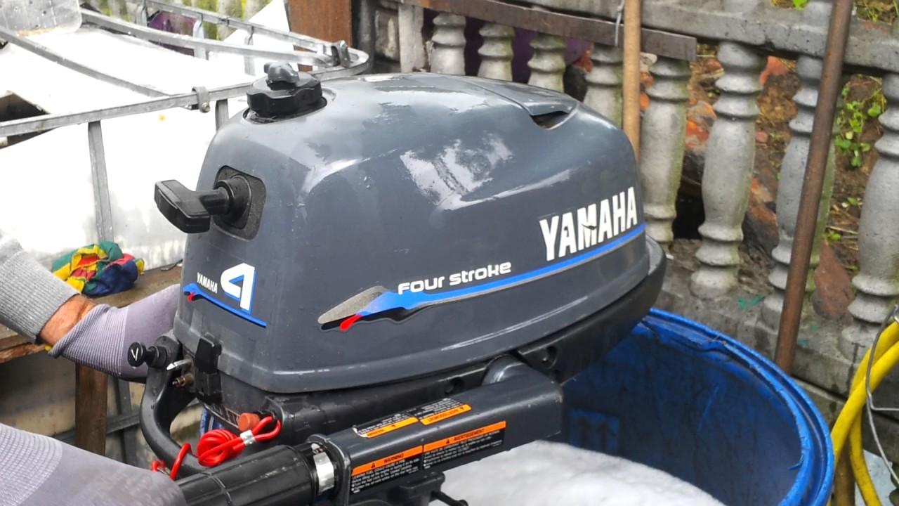 1998 Yamaha F 4 Hp Outboard Motor 4-stroke   4-suw