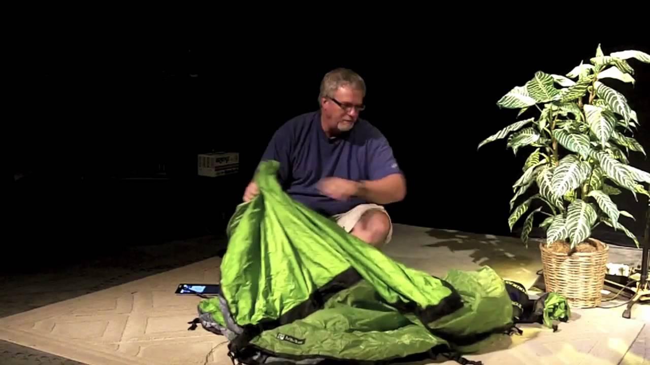 & Nemo Morpho 2P Tent review Motorcyclecampingtv.com - YouTube