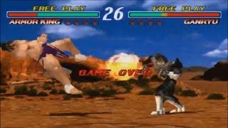 Tekken 2: CPU vs CPU Matches - Demo Gameplays