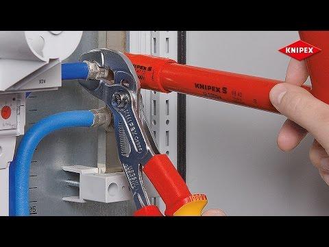 KNIPEX Cobra® VDE Hightech-Wasserpumpenzange, isoliert