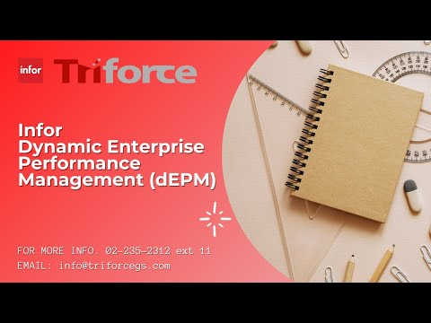 Introduction to Infor Dynamic Enterprise Performance Management