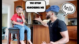3 YEAR OLD IGNORES ME FOR 24 HOURS!!! **gone too far**
