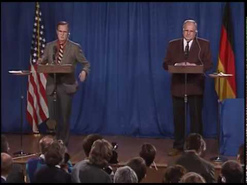 Joint Press Conference with President Bush and Chancellor Kohl of the Federal Republic of Germany