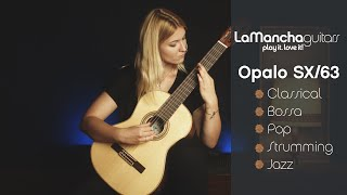 Optimal sized guitar | The Opalo SX/63