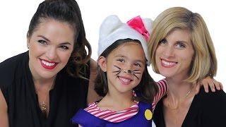 Jillian from EvanTubeHD Flips into Hello Kitty!