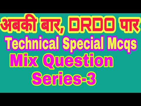 DRDO Special Technical Important Question Answer In Hindi 2019|| Drdo Mix Questions Series 3 By VK