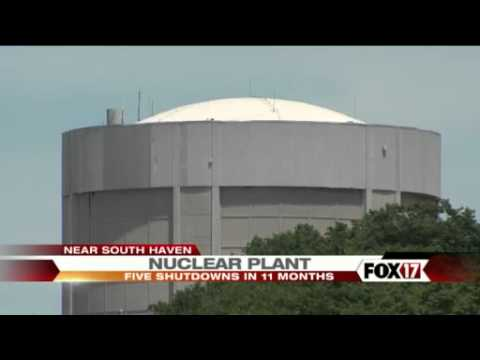 8-12-2012 Palisades Nuclear Plant Near Safe Haven Michigan Shuts Down