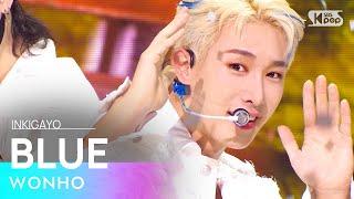 Download Mp3 WONHO BLUE 인기가요 inkigayo 20210919