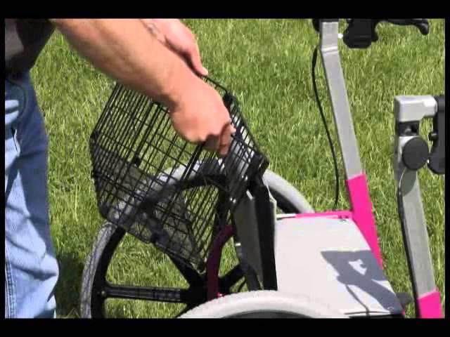 Wheelchair Walker Description & Uses (Walk'n'Chair)