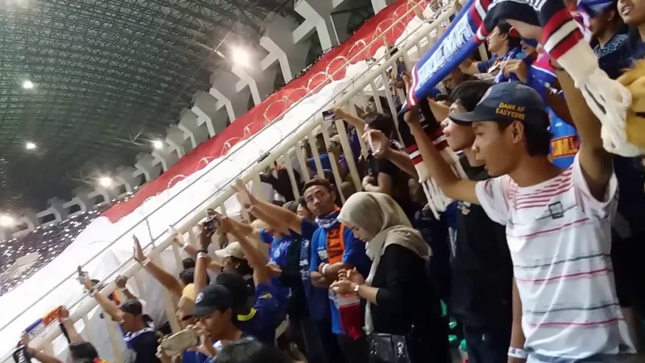 "Arema Vs Indonesia: Final Piala Presiden Arema Vs Pbfc ""indonesia Raya"""