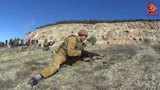 Реконструкция боя Афганской войны