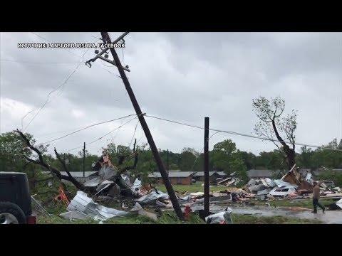 В Техасе во время торнадо погибли двое детей
