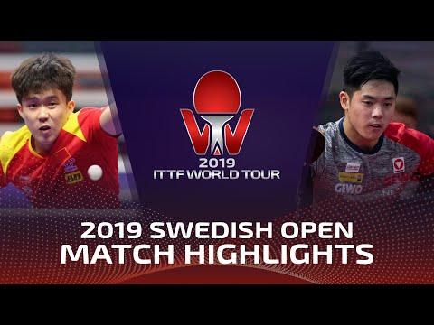 Wang Chuqin vs Chen Alexander | 2019 ITTF Swedish Open Highlights (Pre)