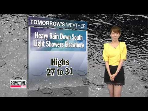 Typhoon Neoguri heading toward Korea, nationwide showers on Tuesday
