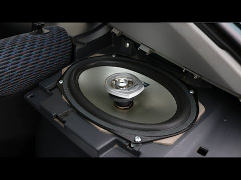 Honda Civic - Rear Speakers Installation