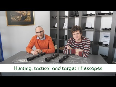 Hunting VS Tactical VS Target Riflescopes | Optics Trade Debates