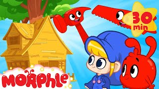 Morphle's Tree House - Mila and Morphle | Cartoons for Kids | Morphle TV