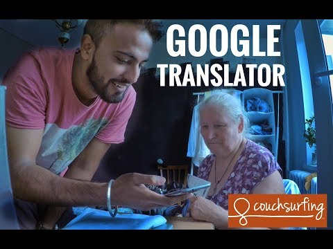 Couchsurfing | The Power of Google Translator  | Russia Travel VLog 5 | псков