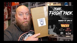 Movie Fans Will Love This $60 ZOBIE FRIGHT PACK Mystery Box + Exclusive Autographs & Memorabilia