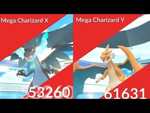 Mega Raid Charizard X and Y, Blastoise and more in Pokemon Go.