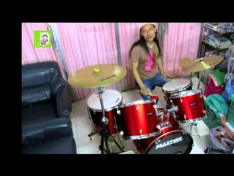 สอนตีกลองชุด จังหวะช่า ช่า ช่า แบบที่ 1 : CHA CHA CHA 1st version : Drum Practice
