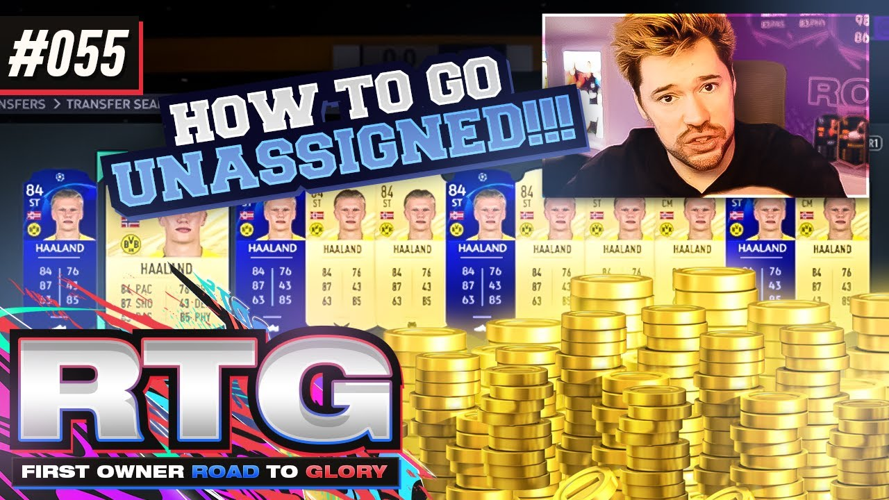 HOW TO GO UNASSIGNED BUT STILL OPEN PACKS! - FIFA 21 First Owner Road To Glory! #55