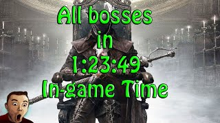Bloodborne Speedrun All bosses with DLC in 1:23:49 In-Game Time