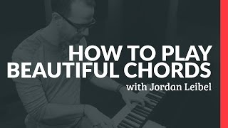How To Play Beautiful Chords - Piano Lessons (Pianote)