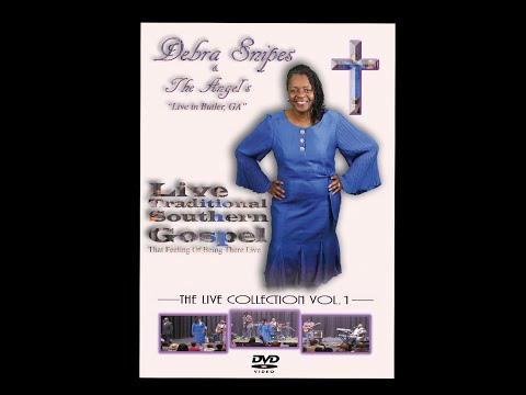 """Debra Snipes & The Angel's  """"The Live Collection Vol.1"""" New DVD"""
