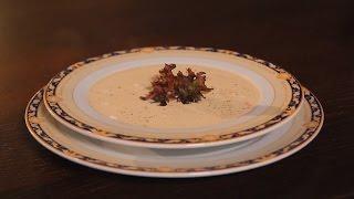 Крем-суп из семги. Рецепт от шеф-повара