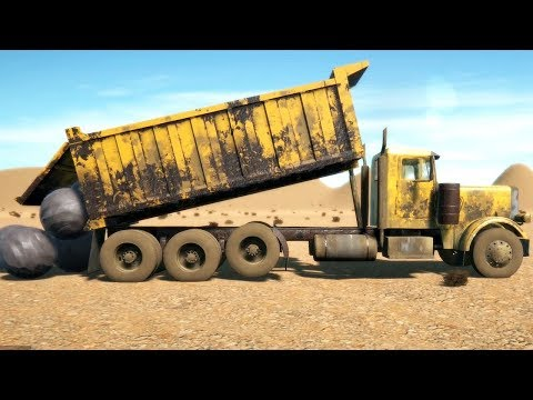 My Truck Game - Another Dump Truck Test
