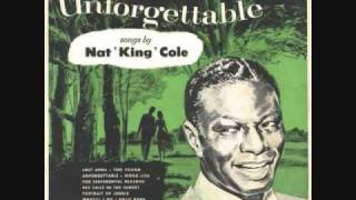 """My Heart Tells Me (Should I Believe My Heart)"" Nat King Cole"