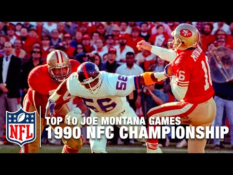 #7: 1990 NFC Championship Game  | Top 10 Joe Montana Games of All Time | NFL Films