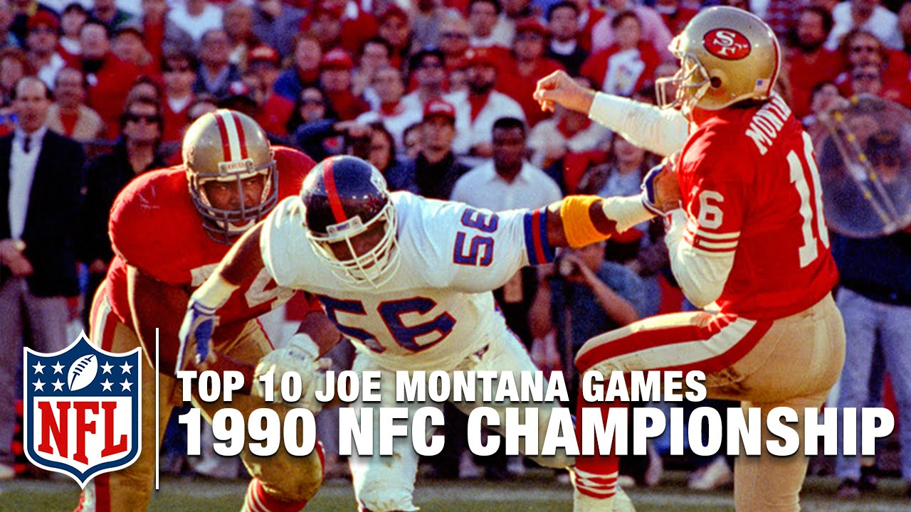 1990 NFC Championship Game: Giants 15, 49ers 13 -- 'There ...