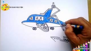 Vẽ Ô tô mơ ước - P2: Cứu nạn trên biển