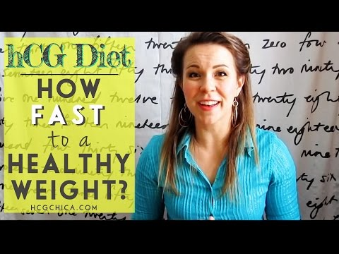 How Fast Is HCG Diet Weight Loss?