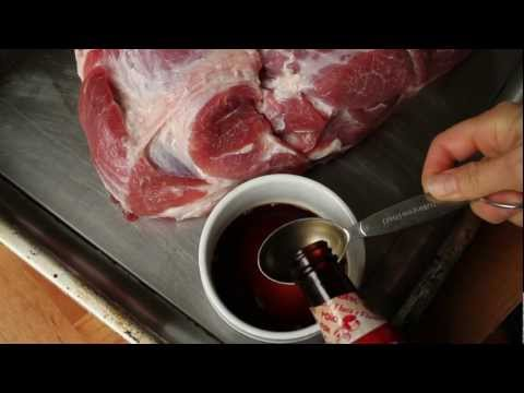 Oven Smoked Pork Roast With Frankie Kimm