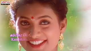 Pathu Rooba Tamil Lyrical || En Aasa Raasavey Songs || Murali || Roja ||  Deva